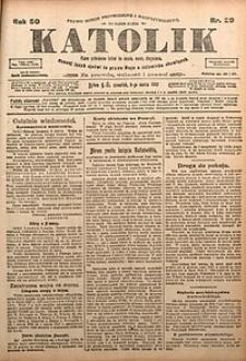 Katolik, 1917, R. 50, nr29