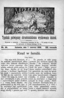 Monika, 1888, R. 3, nr 23