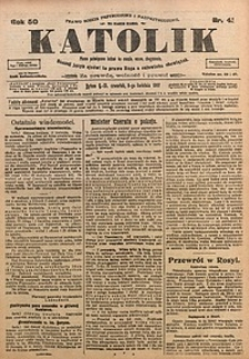 Katolik, 1917, R. 50, nr41