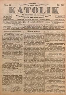 Katolik, 1917, R. 50, nr43