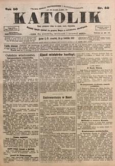 Katolik, 1917, R. 50, nr50