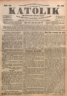 Katolik, 1917, R. 50, nr63