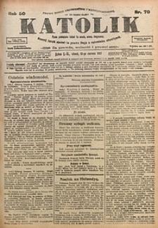 Katolik, 1917, R. 50, nr70