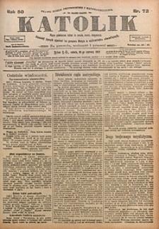 Katolik, 1917, R. 50, nr72