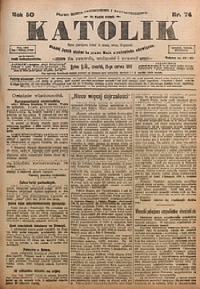 Katolik, 1917, R. 50, nr74