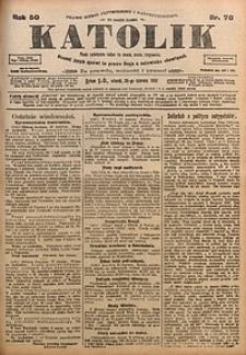 Katolik, 1917, R. 50, nr76