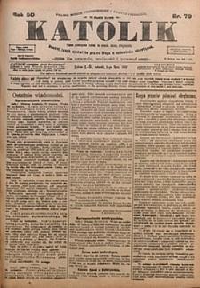 Katolik, 1917, R. 50, nr79