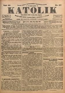 Katolik, 1917, R. 50, nr87