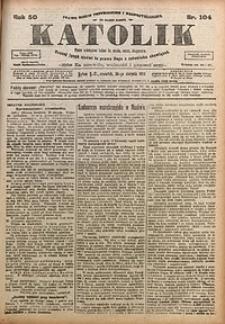 Katolik, 1917, R. 50, nr104