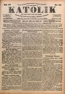 Katolik, 1917, R. 50, nr111