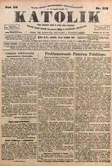 Katolik, 1917, R. 50, nr113