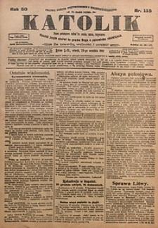 Katolik, 1917, R. 50, nr115