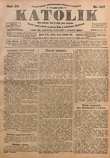 Katolik, 1917, R. 50, nr117