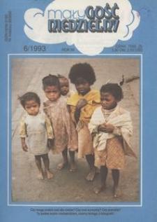 Mały Gość Niedzielny, 1993, R. 39, nr 6