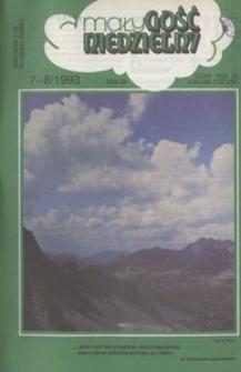 Mały Gość Niedzielny, 1993, R. 39, nr 7-8
