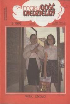 Mały Gość Niedzielny, 1993, R. 39, nr 9