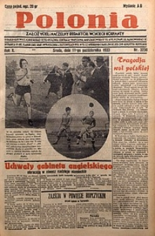 Polonia, 1933, R. 10, nr3236 (11 października)