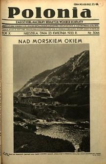 Polonia, 1933, R. 10, nr3066