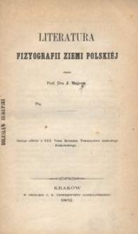 Literatura fizyografii ziemi polskiej