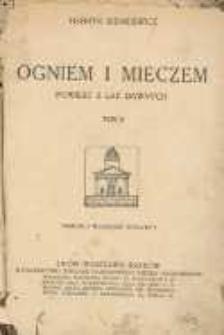 Ogniem i mieczem : powieść z lat dawnych. T. 2.