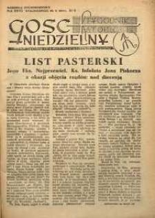 Gość Niedzielny, 1954, R. 27, nr 9
