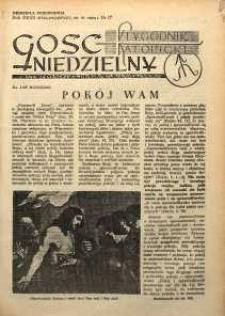Gość Niedzielny, 1954, R. 27, nr 17