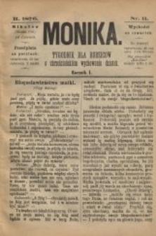 Monika, 1876, R. 1, nr 11