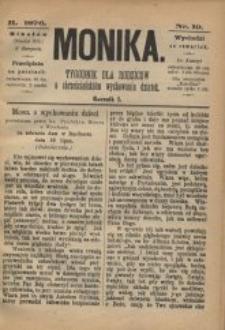 Monika, 1876, R. 1, nr 19