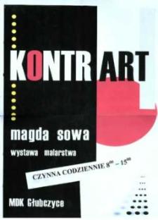 Zaproszenie na wystawę malarstwa Magdy Sowy, 2007 r.