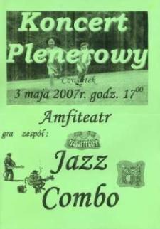 Zaproszenie na Koncert Plenerowy, 2007 r.