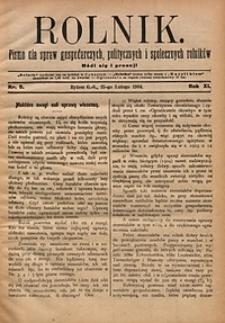 Rolnik, 1904, R.11, nr8