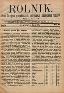 Rolnik, 1904, R.11, nr9