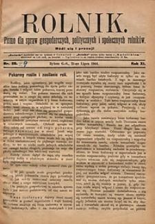 Rolnik, 1904, R.11, nr29