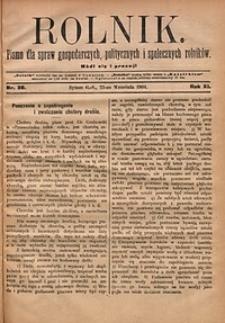 Rolnik, 1904, R.11, nr38