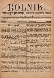 Rolnik, 1904, R.11, nr39