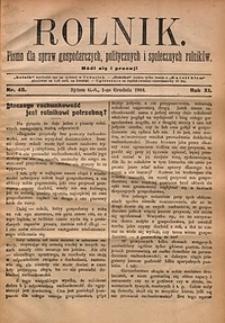 Rolnik, 1904, R.11, nr48