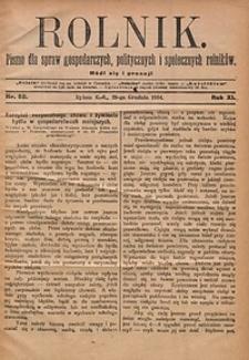 Rolnik, 1904, R.11, nr52