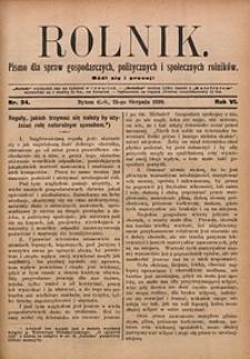 Rolnik, 1899, R. 6, nr34