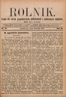 Rolnik, 1899, R. 6, nr37