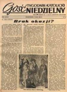 Gość Niedzielny, 1955, R. 28, nr 19