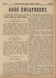 Gość Świąteczny, 1906, nr4