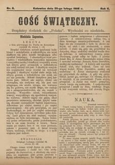 Gość Świąteczny, 1906, nr8