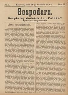 Gospodarz, 1906, nr7