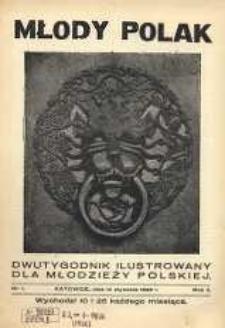 Młody Polak , 1926, R. 2, nr 1