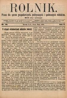 Rolnik, 1898, R. 5, nr20