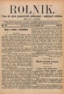 Rolnik, 1898, R. 5, nr34