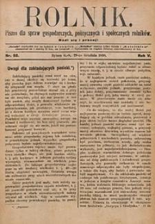 Rolnik, 1898, R. 5, nr52