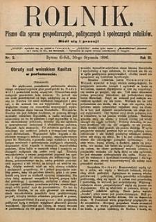 Rolnik, 1896, R. 3, nr5