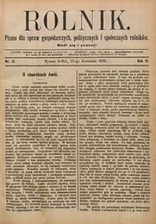 Rolnik, 1896, R. 3, nr17