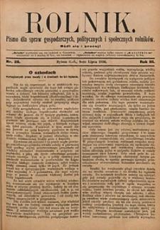 Rolnik, 1896, R. 3, nr28